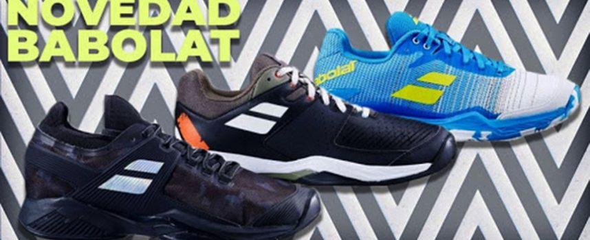 Nuevas zapatillas de pádel Babolat