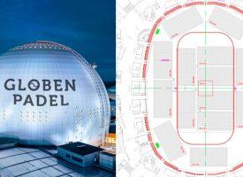 El pádel coge altura en Suecia: abre Globen Padel