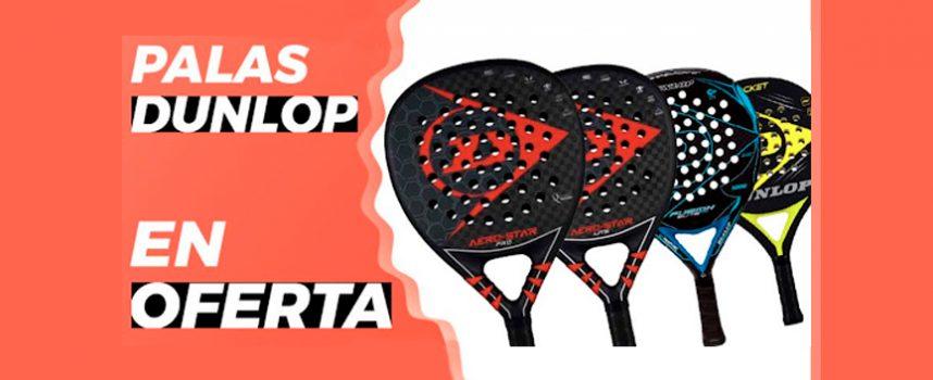 5 palas Dunlop en oferta que no tendrás que dejar pasar